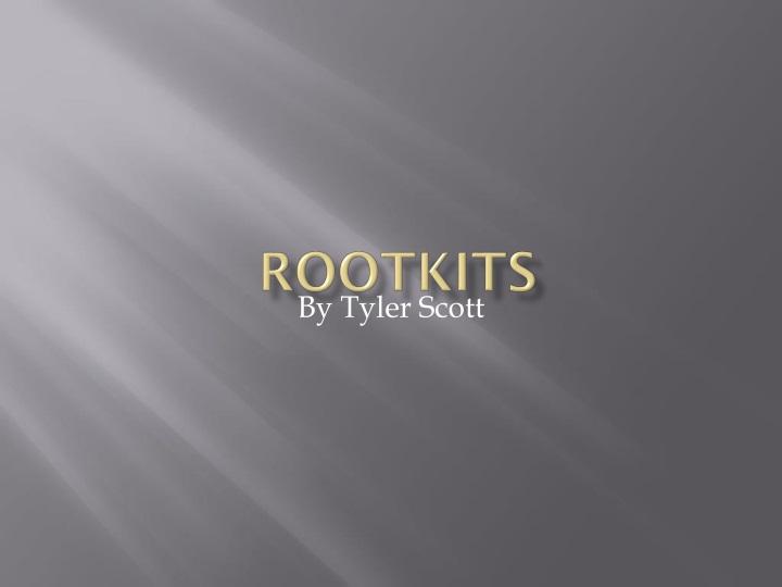 rootkits n.
