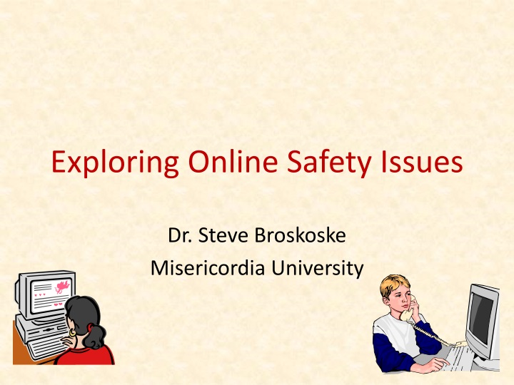 exploring online safety issues n.