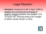 legal reaction
