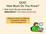 quiz how much do you know