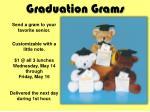 graduation grams