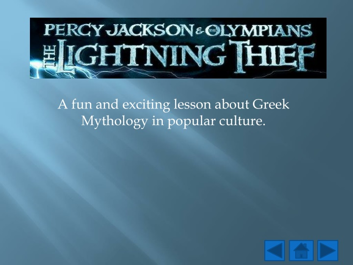 a fun and exciting lesson about greek mythology in popular culture n.