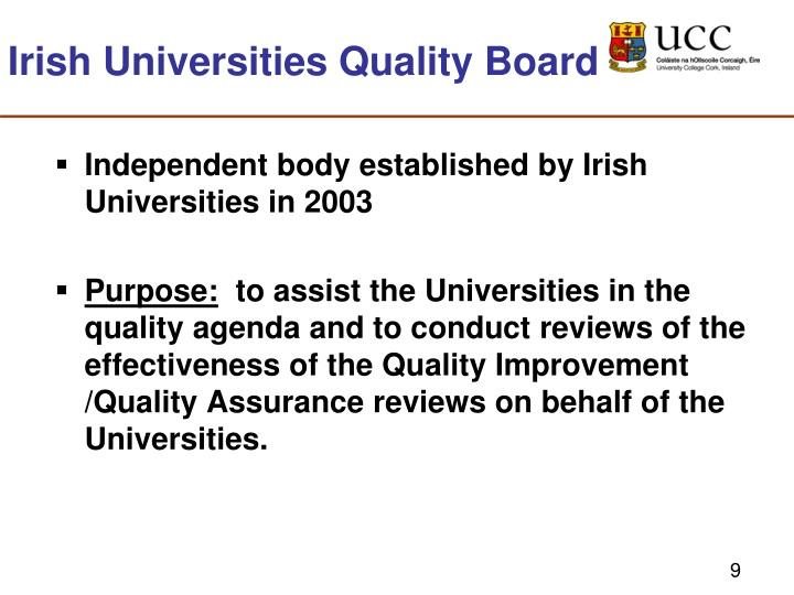 Irish Universities Quality Board