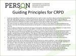 guiding principles for crpd