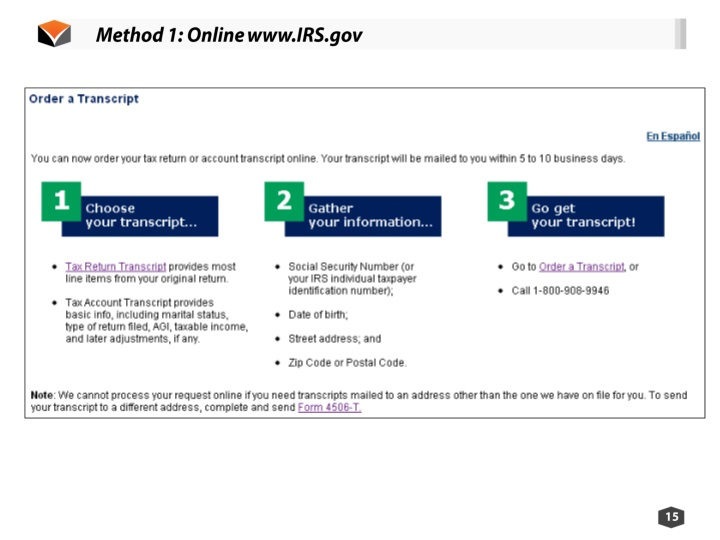 PPT - I Need IRS Tax Transcripts NOW: Tips and Tricks of IRS