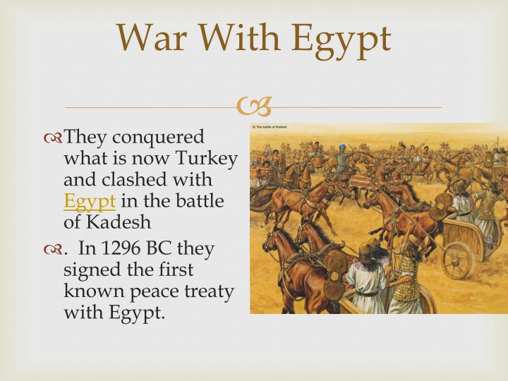 Hittites Weapons And Tools PPT - The Hittites and...