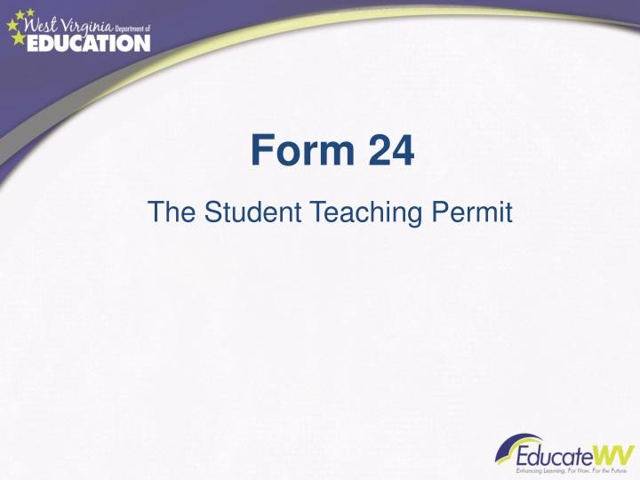 Form 24