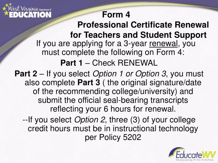 Form 4