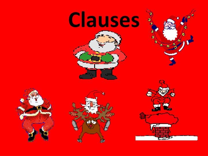 clauses n.