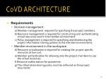 covd architecture