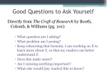 good questions to a sk yourself