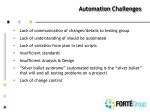 automation challenges