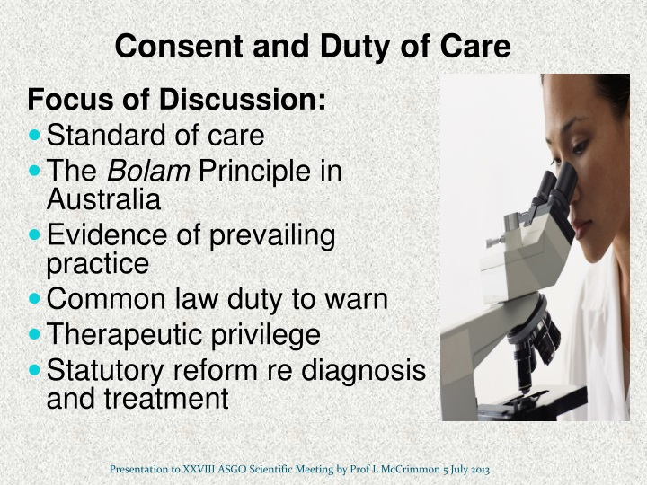 duty of care assignment 055 An important element of the un's duty of care to personnel is the responsibility to inform personnel of the (residual) risks prior to their assignment or deployment 3 the information that should be provided to discharge the responsibility to inform includes: operational environment.