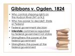 gibbons v ogden 1824