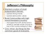 jefferson s philosophy