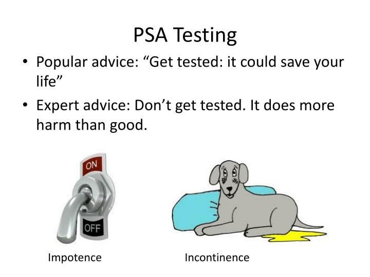 PSA Testing