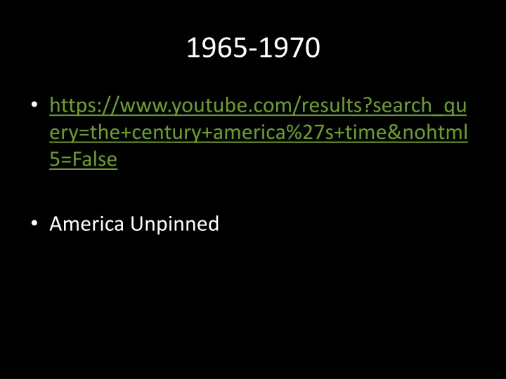 1965 1970 n.