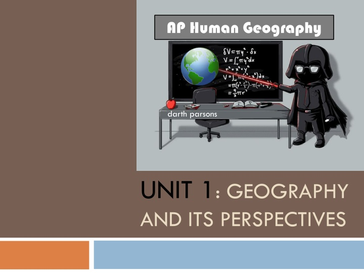 unit 1 geography and its perspectives n.