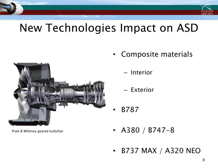New Technologies Impact on ASD