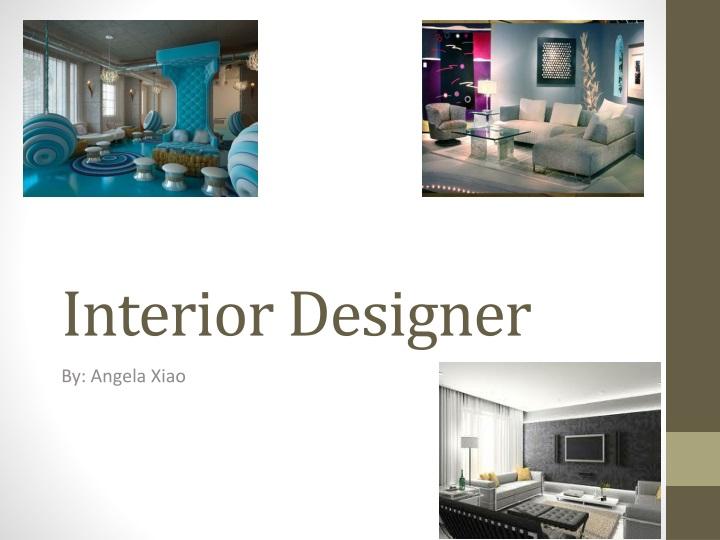 interior designer n.
