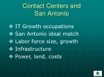 contact centers and san antonio