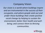 company vision