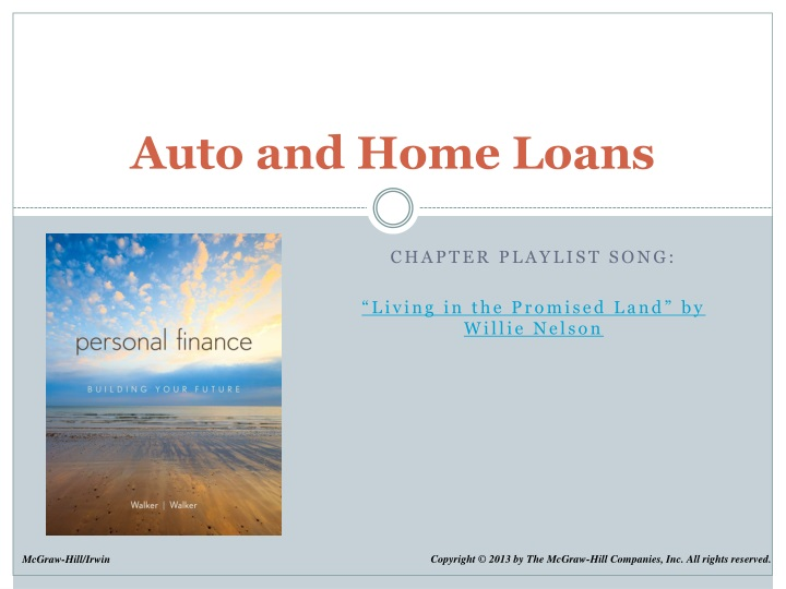 Nelson Auto Finance >> Ppt Auto And Home Loans Powerpoint Presentation Free