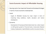 socio economic impact of affordable housing
