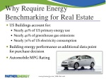 why require energy benchmarking for real estate