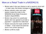 more on a retail trade in a nasdaq st2