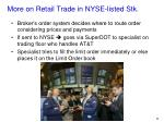 more on retail trade in nyse listed stk2