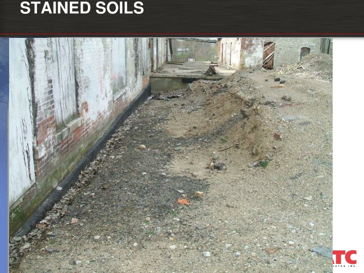 STAINED SOILS