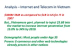 analysis internet and telecom in vietnam