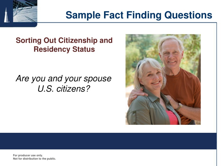 Sample Fact Finding Questions
