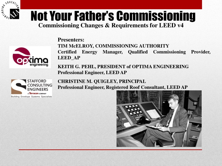 not your father s commissioning n.