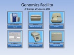 genomics facility @ college of science lsu 1