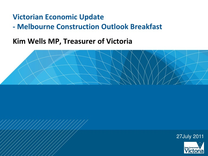 Victorian economic update melbourne construction outlook breakfast