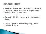 imperial oaks