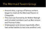 the mermaid tavern group