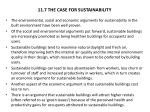 11 7 the case for sustainability