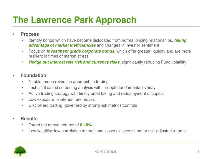 The Lawrence Park Approach