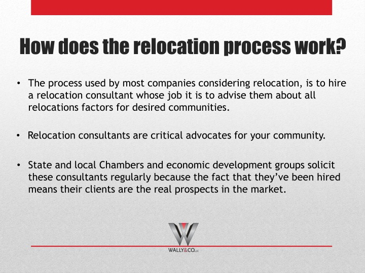 How does the relocation process work