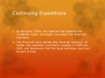 continuing expeditions