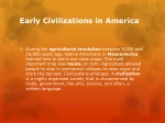 early civilizations in america