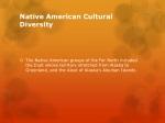 native american cultural diversity