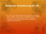 religious incentive pg 25 28
