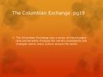 the columbian exchange pg19