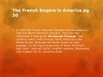the french empire in america pg 30