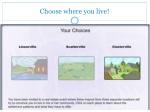 choose where you live