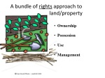 a bundle of rights approach to land property